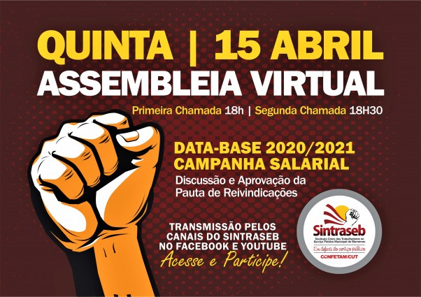 CARTAZ assembleia 15 ABRIL